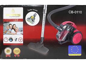 Колбовый пылесос с турбощеткой Crownberg CB-0110 2400W, фото 3