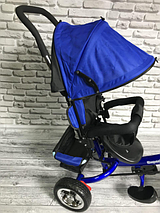 Детский трехколесный велосипед Super Trike   Синий, фото 3
