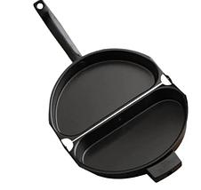 Двойная сковорода для омлета Folding Omelette Pan | Омлетница с антипригарным покрытием, фото 2