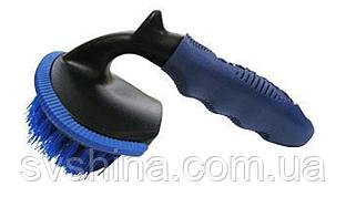 Щетка для очистки колес (14 х8.5см,без рукоятки)