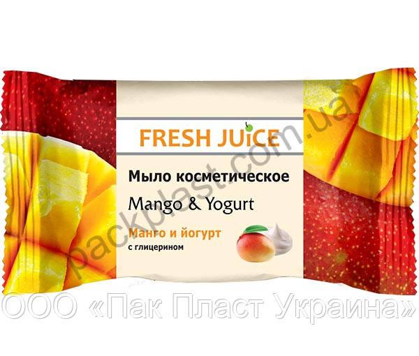 """Мыло косметическое Fresh Juice """"Mango & Yogurt"""""""