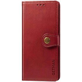 Шкіряний чохол книжка GETMAN Gallant (PU) для Xiaomi Redmi Note 8T