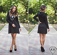 Черное платье 15872