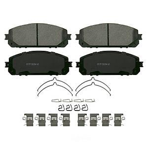 Колодки тормозные передние с пластинами WAGNER ZD1843  JEEP CHEROKEE