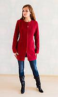 Стильное женское кашемировое пальто приталенного кроя