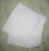 Серветка хустинка бавовняна біла