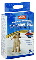 Hartz (Харц) Пеленки супер впитывающие - место для туалета Puppy Training Pads 32шт
