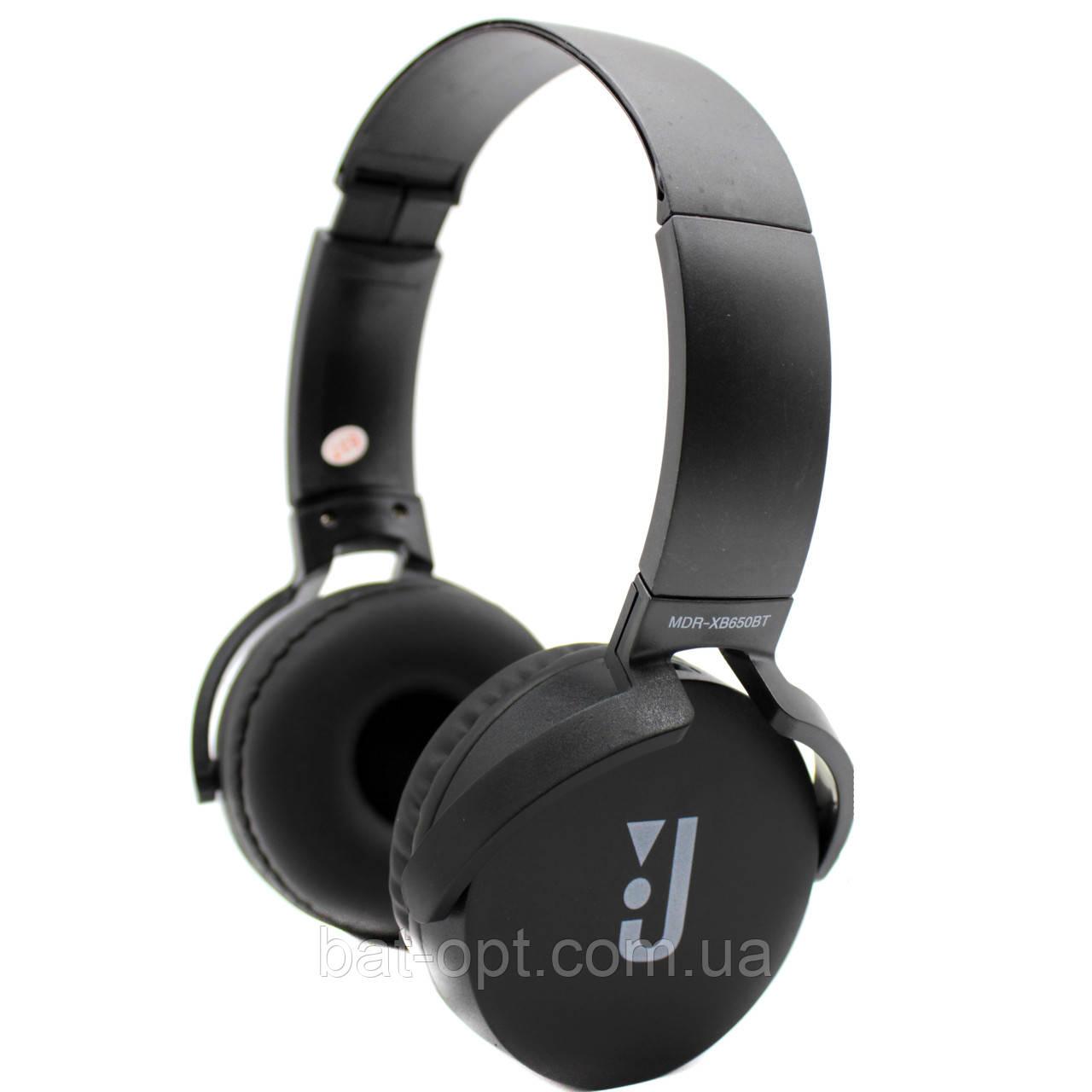 Bluetooth-наушники JBL MDR-XB650BT черные