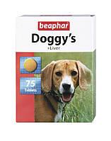 Beaphar (Беафар) Витамины для собак Doggys с ливером 75таб
