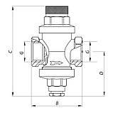 """Редуктор тиску KOER KR.1252 3/4"""" (KR2664), фото 3"""