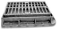 Дождеприемник-мини пластиковый квадратный 300*300 (чорный)