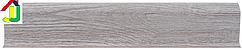 Плінтус пластиковий LinePlast L001 Африканське дерево з кабель-каналом, підлоговий з м'якими краями