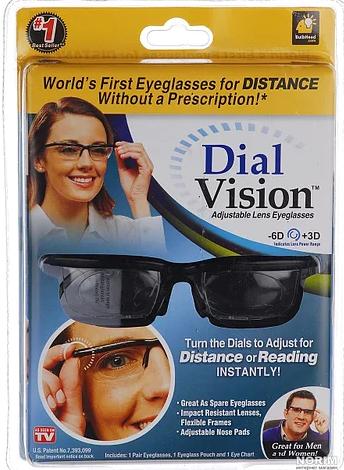 Очки для зрения универсальные Dial Vision