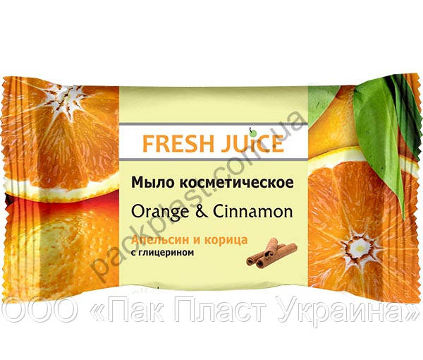 "Мыло косметическое Fresh Juice ""Orange & Cinnamon"""