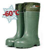 Сапоги зимние из ЭВА (Псков-Полимер), Рыбацкие сапоги (пена) NordMan Extreme -60*с