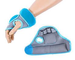 Перчатки IronMaster с утяжелителем (2x0,5кг, синий)