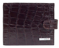 Кошелёк  коричневого цвета Karya 0431-57 под крокодил, фото 1