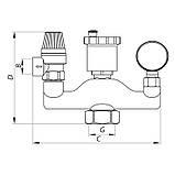 """Группа безопасности 1"""" (в термоизоляционном кожухе) KOER KR.105PT (KR2753), фото 2"""