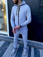 Спортивный костюм Boss grey мужской осенний   весенний ТОП качества, фото 1