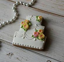 Формочка- вырубка для пряников Торт №4
