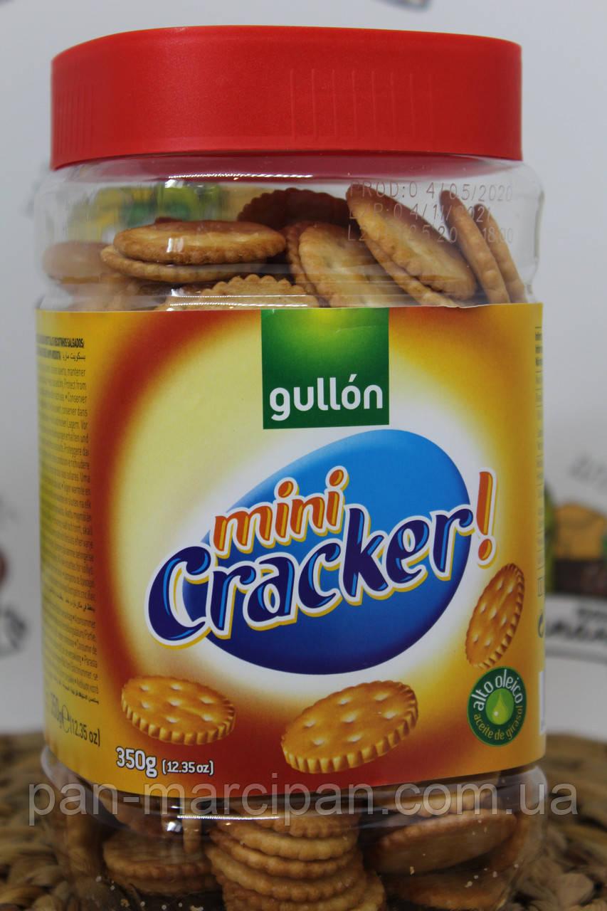 Печиво Gullon Mini Cracker 350 г Іспанія