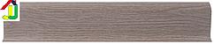 Плінтус пластиковий LinePlast L003 Дуб білений з кабель-каналом, підлоговий з м'якими краями