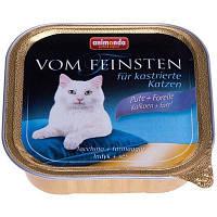 Animonda (Анимонда) Консерва для кошек Vom Feinsten, индейка форель 100гр