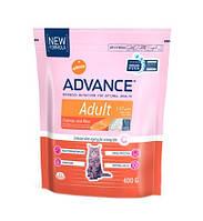 Advance (Эдванс) Сухой корм для котов Advance Cat, лосось рис 400гр