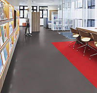 Marmoleum Solid-red shimmer, фото 3