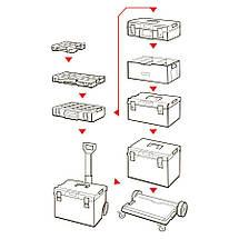 Скринька для інструментів QBRICK SYSTEM ONE 350 PROFI Розмір : 585 x 385 x 320, фото 3