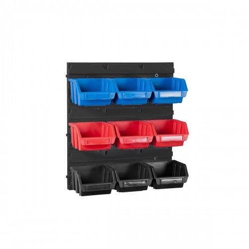 Настенный органайзер с лотками 9 штук (345 x 385 x 90)