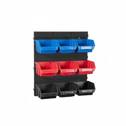 Настенный органайзер с лотками 9 штук (345 x 385 x 90), фото 2