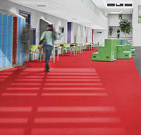 Marmoleum Solid-red glow, фото 2