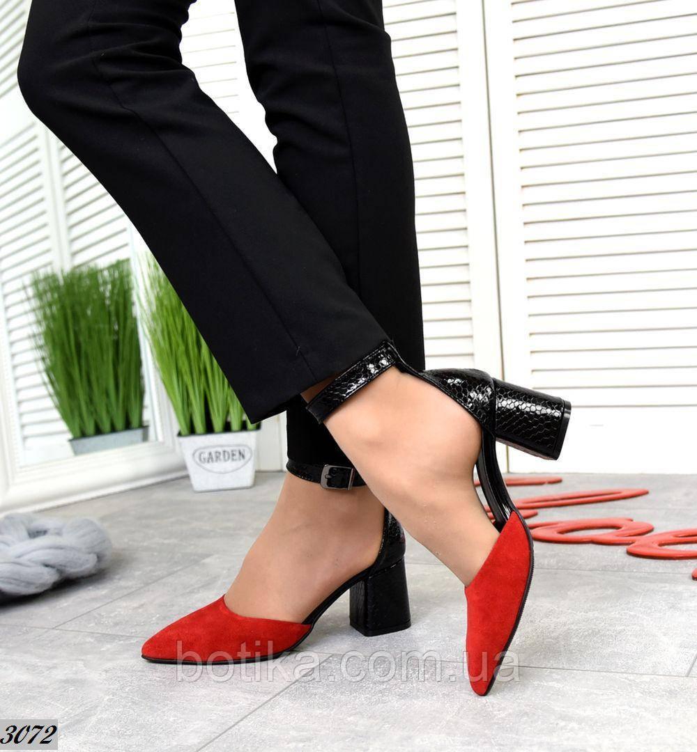 Шикарные летние туфли женские на каблуке