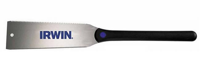 Ножівка японська з подвійною кромкою (для поздовжньої/поперечного різання), 7/17TPI, IRWIN, фото 2