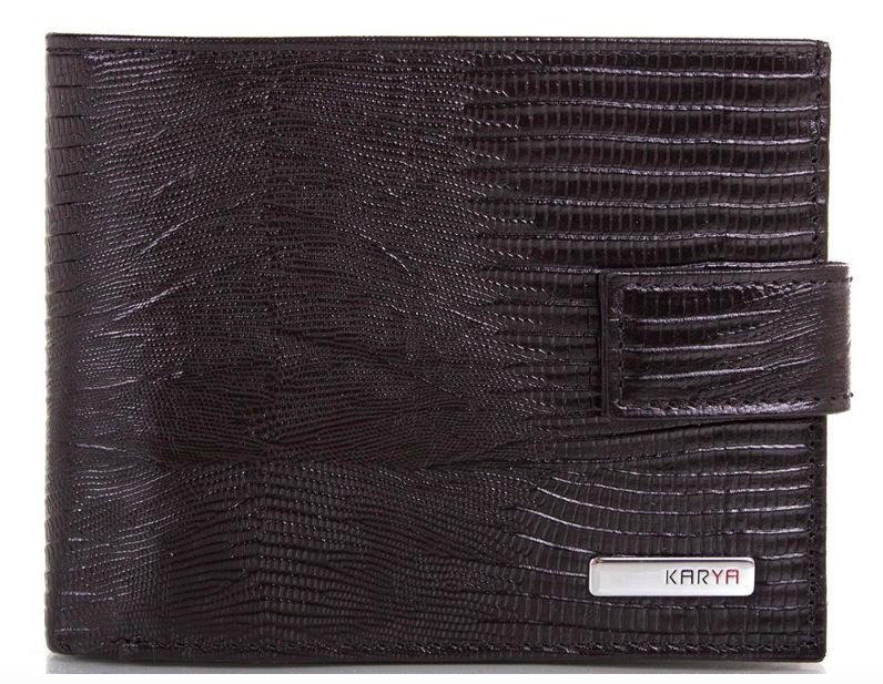 Кошелек черного цвета Karya 0450-076