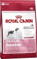 Royal Canin (Роял Канин) Сухой корм для щенков средних пород Medium Junior 15кг (до 12 мес)