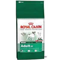 Royal Canin (Роял Канин) Сухой корм для собак мелких пород Mini Adult 2кг (от 10 мес до 8 лет)