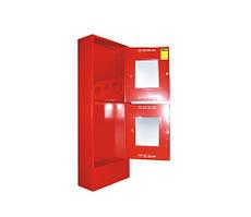Пожарный шкаф Goobkas ПРЕСТИЖ-03-ПОК приставной, открытый, красный