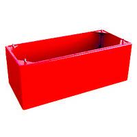 Подставка под пожарный шкаф Goobkas Престиж красный