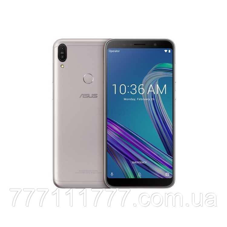 Смартфон с мощной большой батареей и хорошей камерой на 2 sim Asus ZenFone Max Pro M1 ZB602KL 4/128 silver NFC