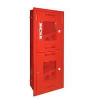 Пожарный шкаф Goobkas ПРЕСТИЖ-03-ВОК-2ПК (ШПК-320-21 ВОК) встроенный, открытый, красный