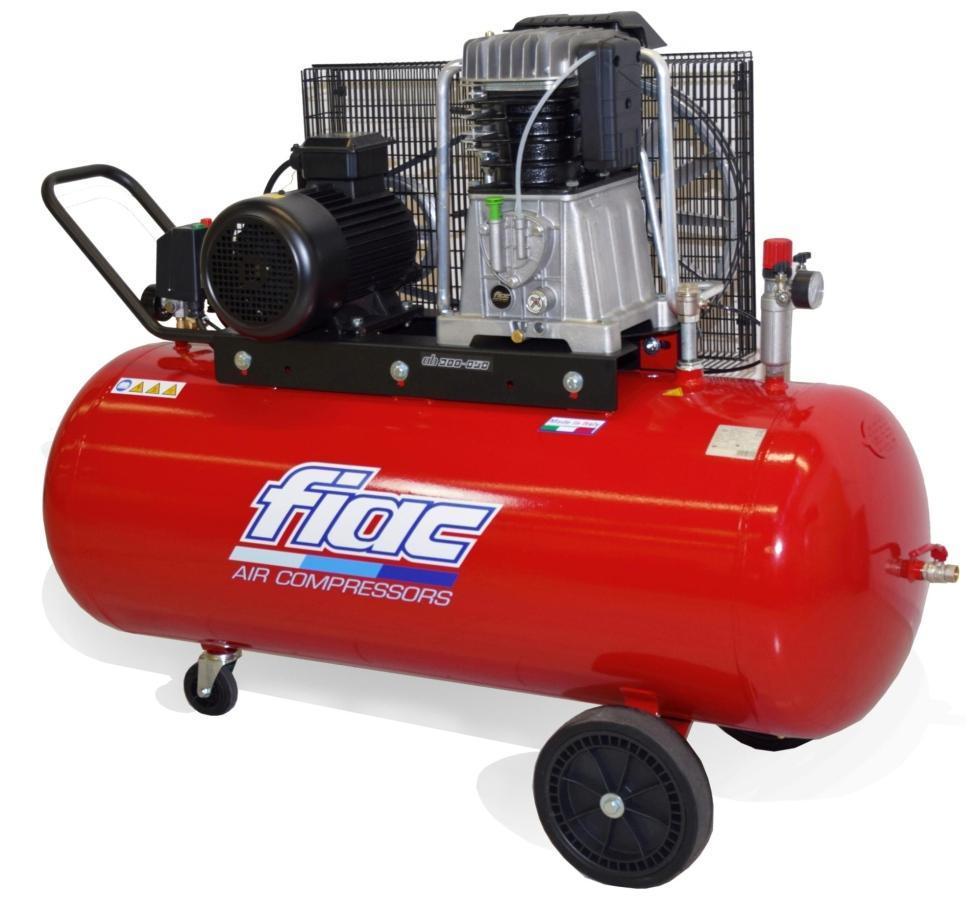 Компресор поршневий FIAC AB 300/858 15BAR (ресивер 270 л, пр-сть 830 л/хв)