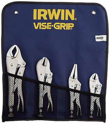 Плоскогубці Vise-Grip з фіксатором Original - набір 4 шт. (10CR, 7R, 6LN, 5WR) в сумці IRWIN T71, фото 2