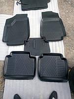 Коврик для салона авто 2121 резина (комплект 5 шт.)