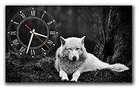 Часы настенные фотопечать 30*50 см