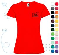 Женская футболка Montecarlo Woman под нанесение логотипа