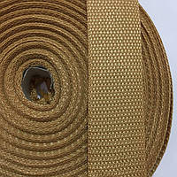Лента ременная 100% Полипропилен 40мм цв бежевый (боб 50м) р 3282 Укр-з