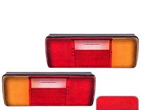 Фонарь задний для легкового автомобиля CD-64909-L/R 115LED/24V/335mm*120mm (CD-64909-L/R)