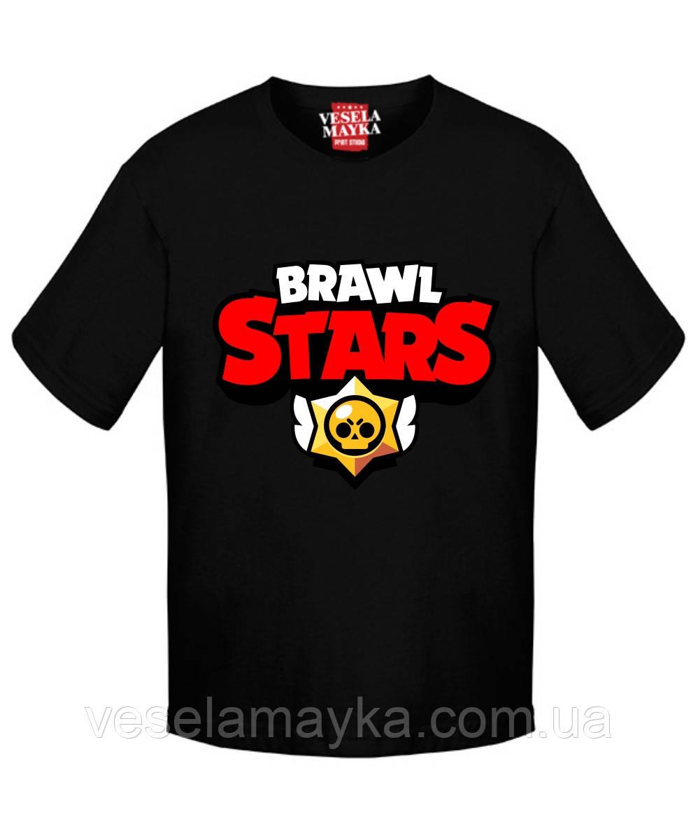 Детская футболка Бравл Старс (Лого)